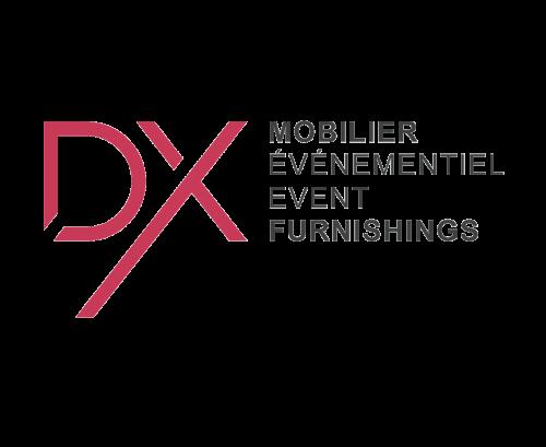 Logo DX Mobilier Événementiel
