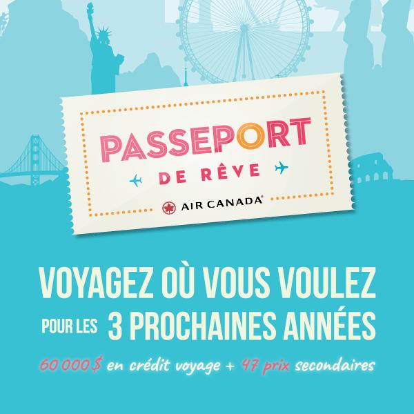 Passeport de reve 2019