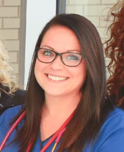 Julie Tanguay, infirmière au CHU Sainte-Justine