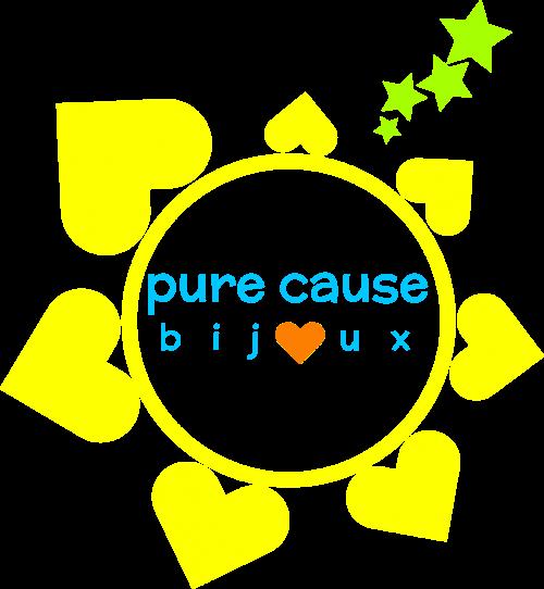 Pure Cause bijoux logo - Entreprise Enfant Soleil